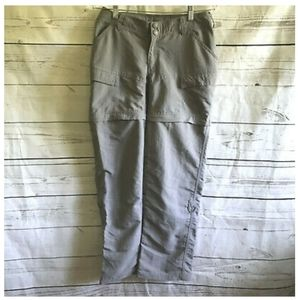 THE NORTH FACE Women Gray Convertible Hiking Pants